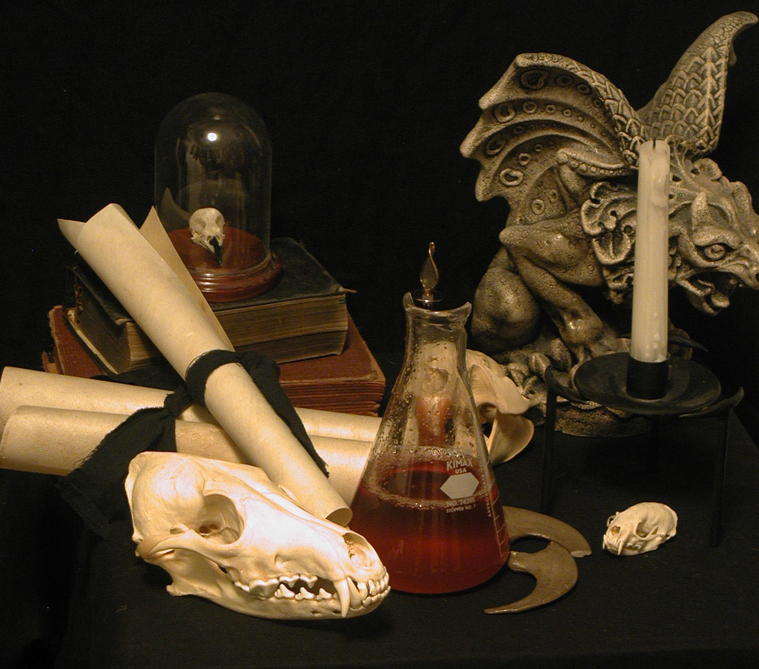 Potions Master's Desk by lockstock
