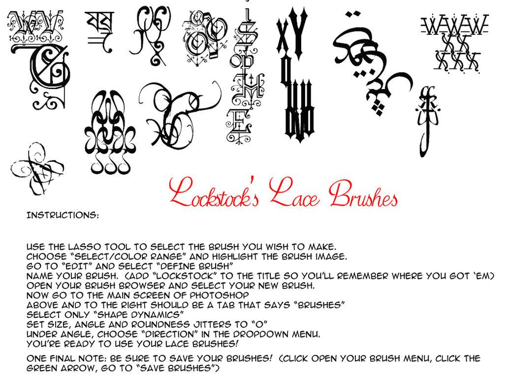 Lockstocks lace brushes JPGS by lockstock