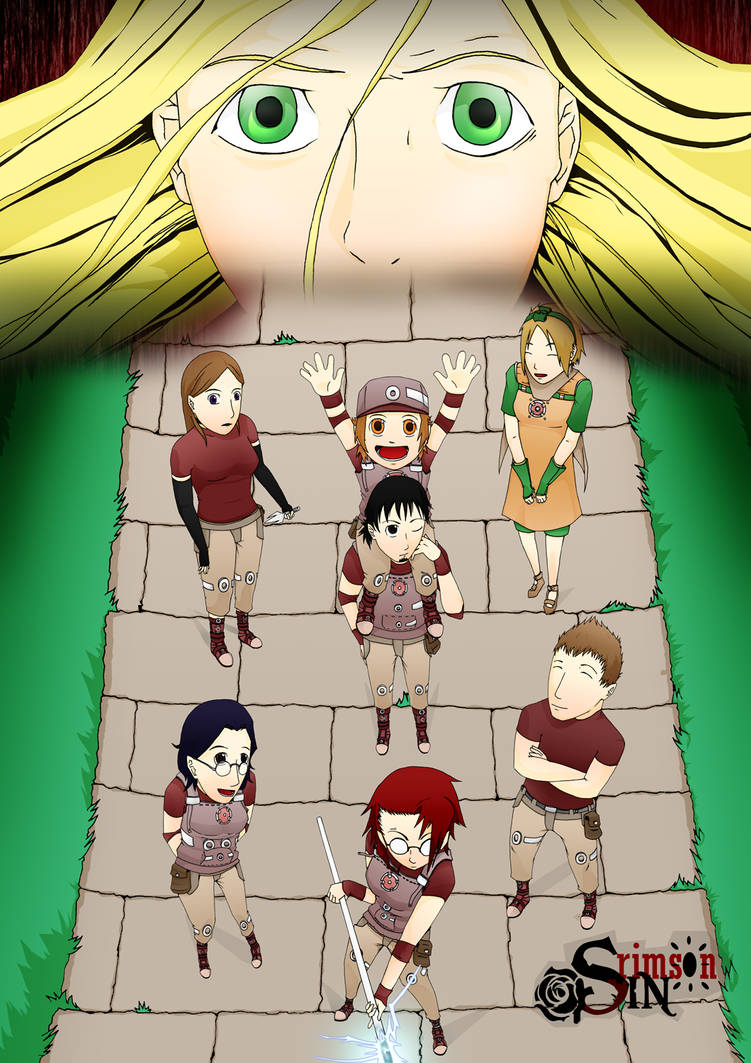 Crimson Sin - Poster by Cardemm