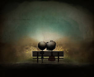 Silent love by Alirenia
