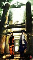 Naruto and Sasuke: Friendship?