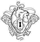 Heart and keys