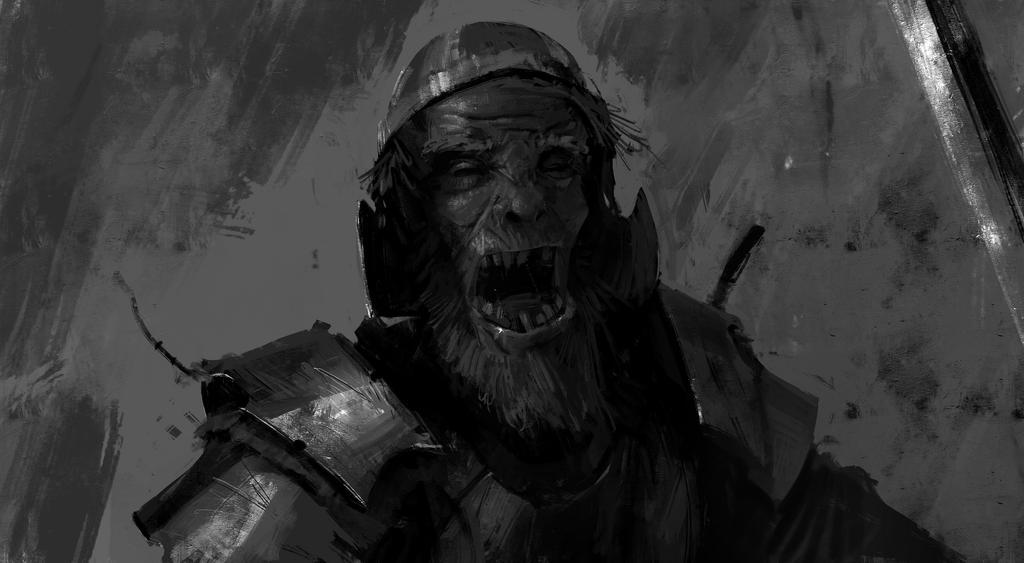 Hobbo Warrior by TacticsOgre