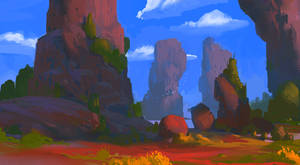Rocks? Rocks. by TacticsOgre
