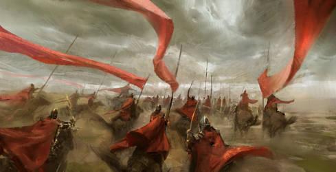 Horsemen by TacticsOgre