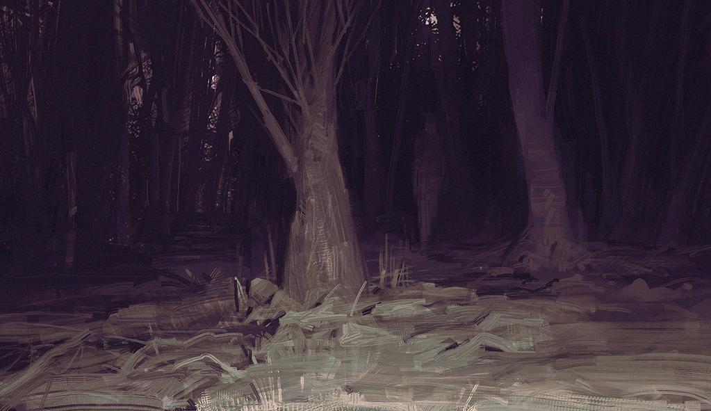 dark woods by TacticsOgre
