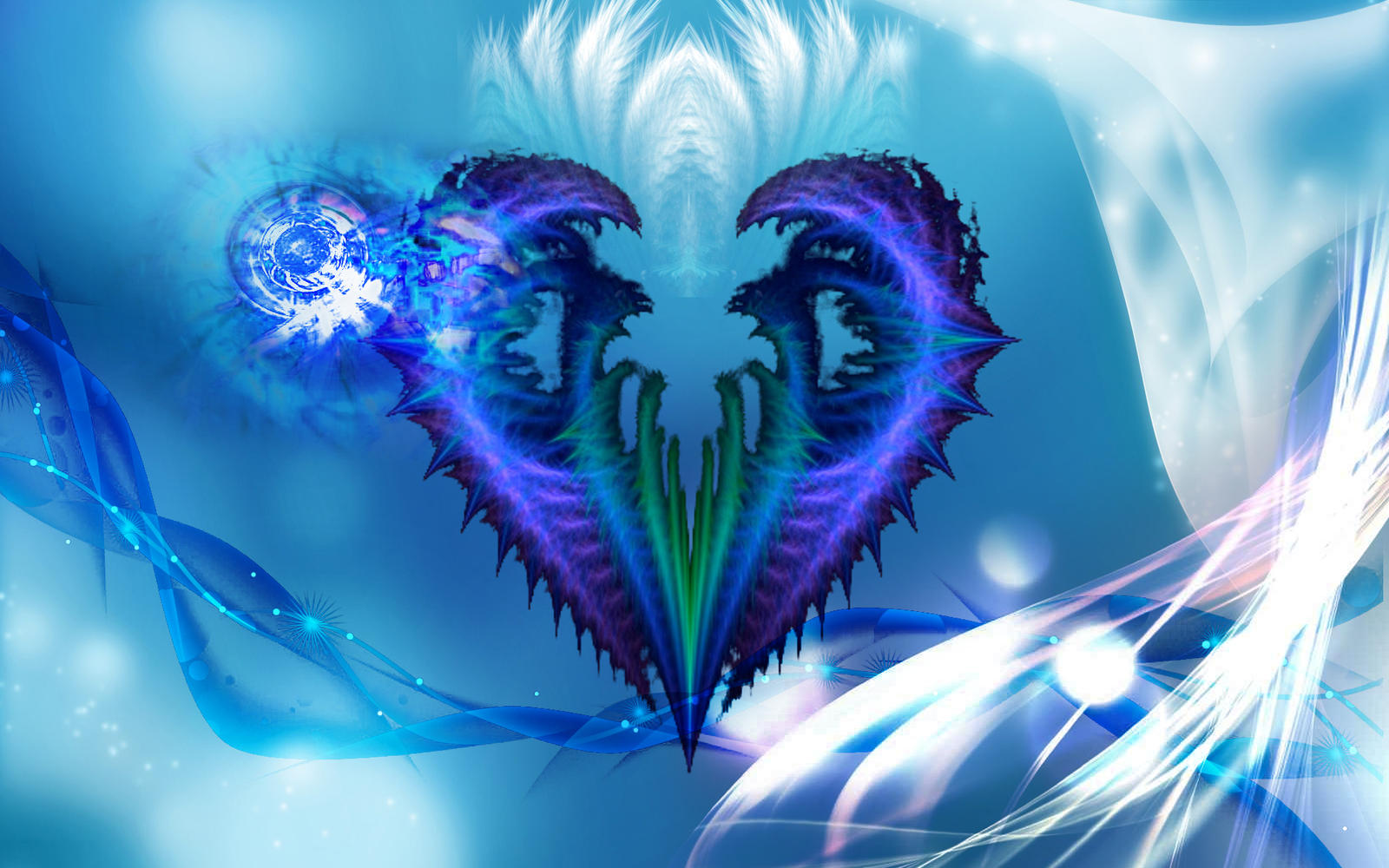 abstract heart ...