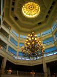 Lobby of the Grand Floridian Hotel