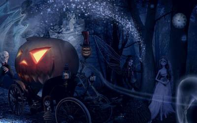 Tim Burton's Cinderella by jesus-at-art