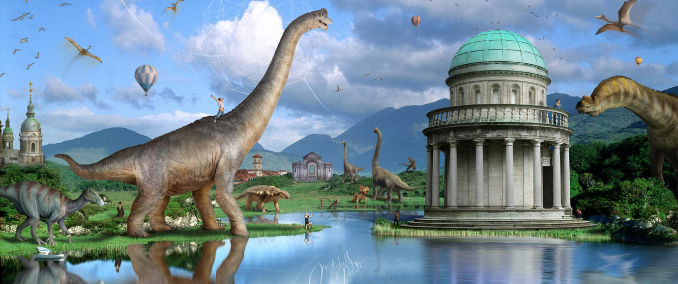 Walking with Dinosaurs by jesus-at-art