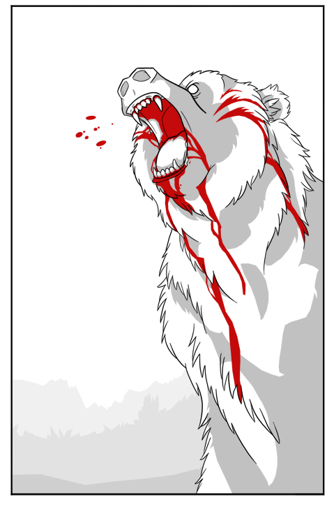 Zombie Bear By Super Geek On Deviantart