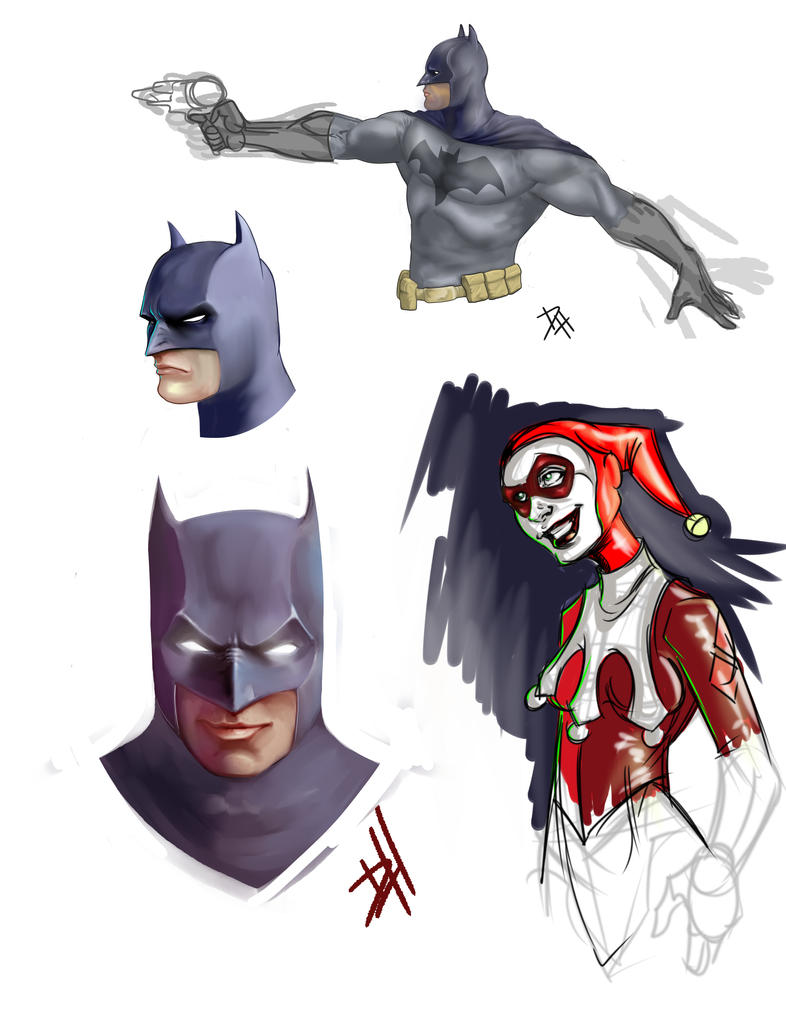Some paint sketches by Maulsmasher