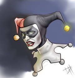 Harley Quinn Paint by Maulsmasher