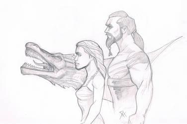 DaenerysDrogo by Maulsmasher