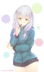 Sagiri Izumi by kukuro-kun