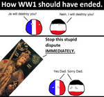 How WW1 should have ended