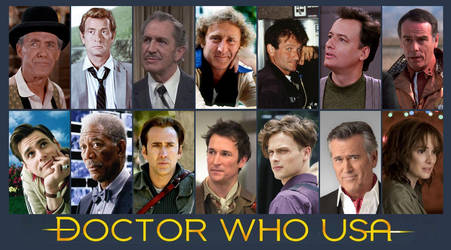 Doctor Who USA by AdriCureuil