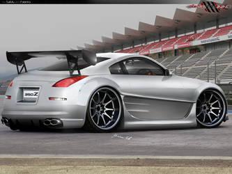 Nissan 350 Z by FabinhoDesigner