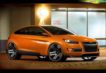 Ford Focus Wtb 2010 by FabinhoDesigner