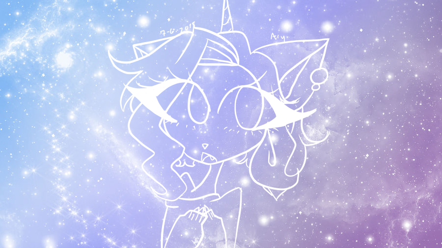 Pastel Galaxy Arianna by TheJewelKitty