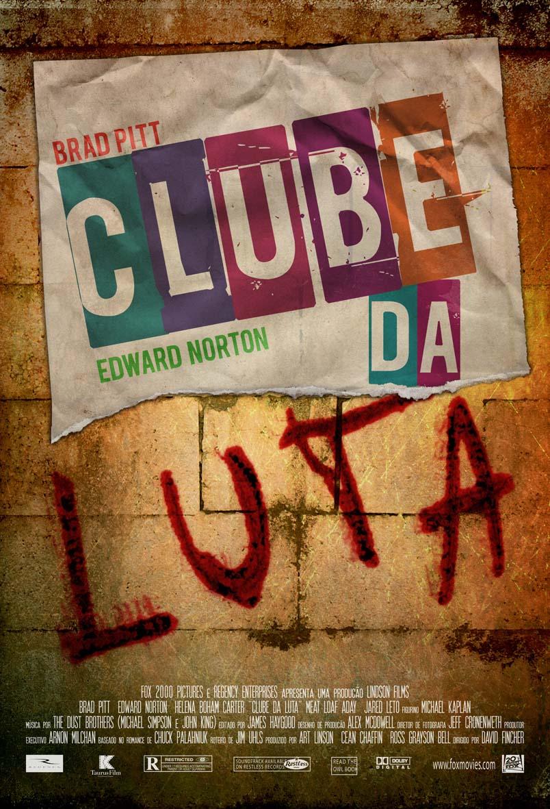 Poster Clube Da Luta By Schincariol On Deviantart