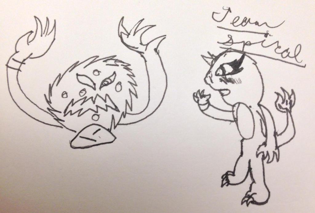 Team spiral by howtobeast101