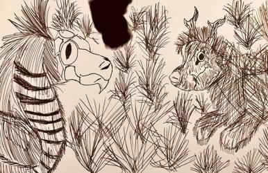 Posable Creatures Fanart