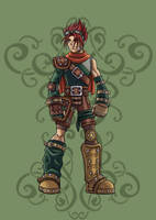 Fantasy Earth Zero - Scout by RodWolf