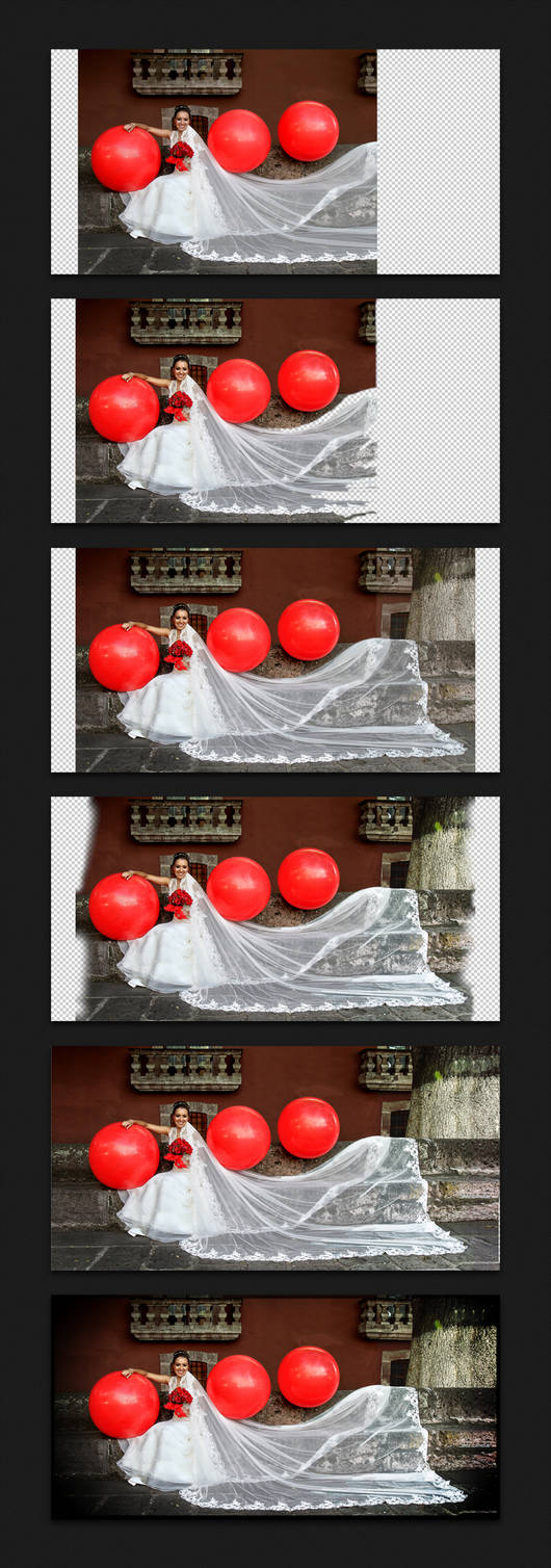 Panoramic Retouch Process