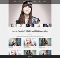 beu - Beauty HTML5 - CSS3 Template