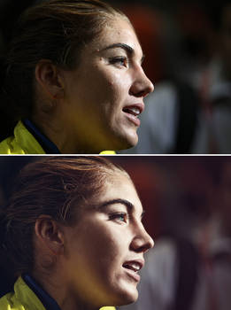 Hope Solo High End Retouch