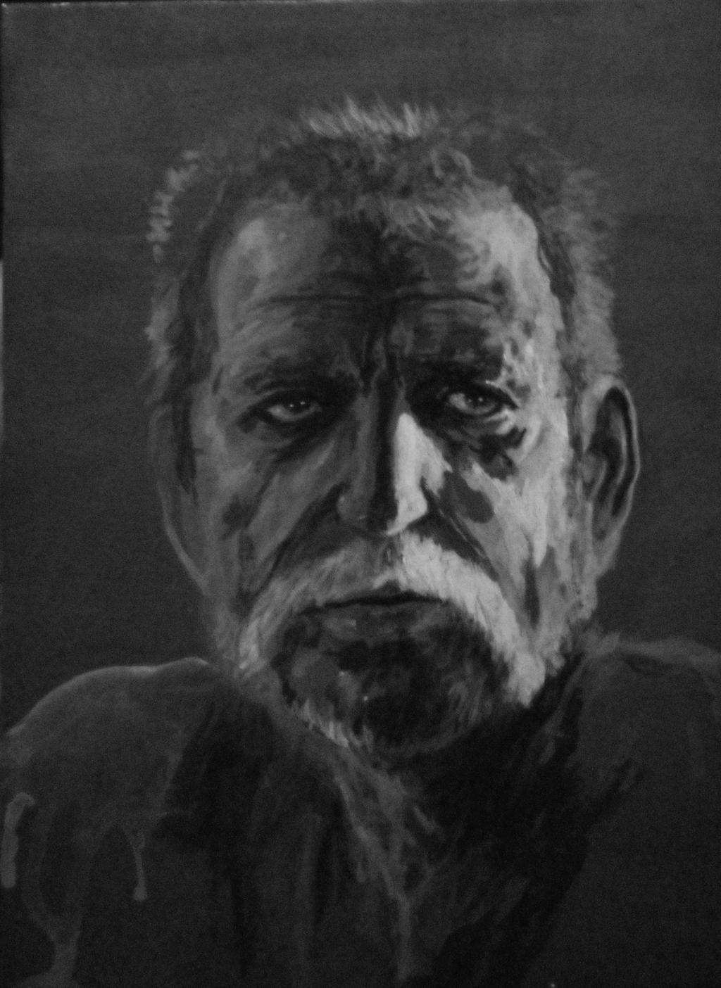 acrylic color on canvas - 24''x 30''