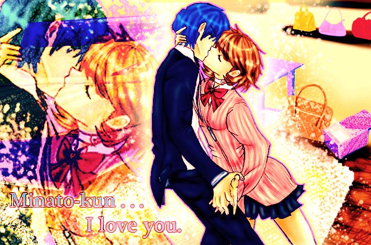 Minato-kun . . . I love you. by smzeldarules on DeviantArt Yukari Takeba And Minato Arisato
