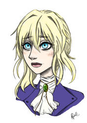 Violet Evergarden by LuluHimeChannel