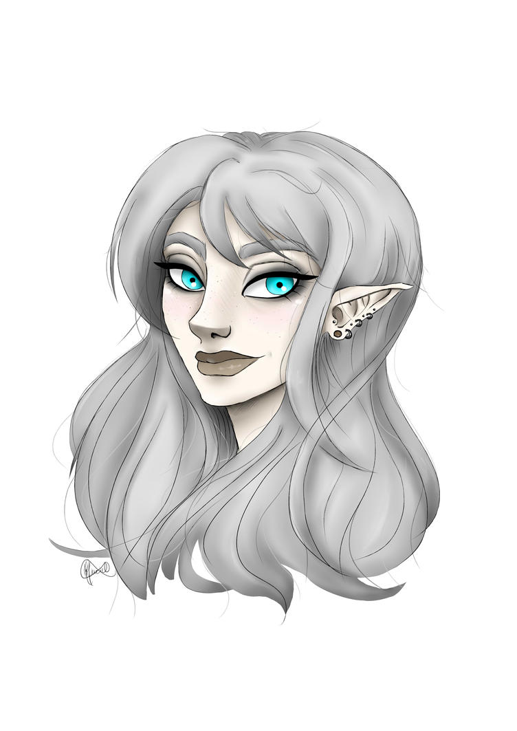 Alternative Elf Girl by LuluHimeChannel