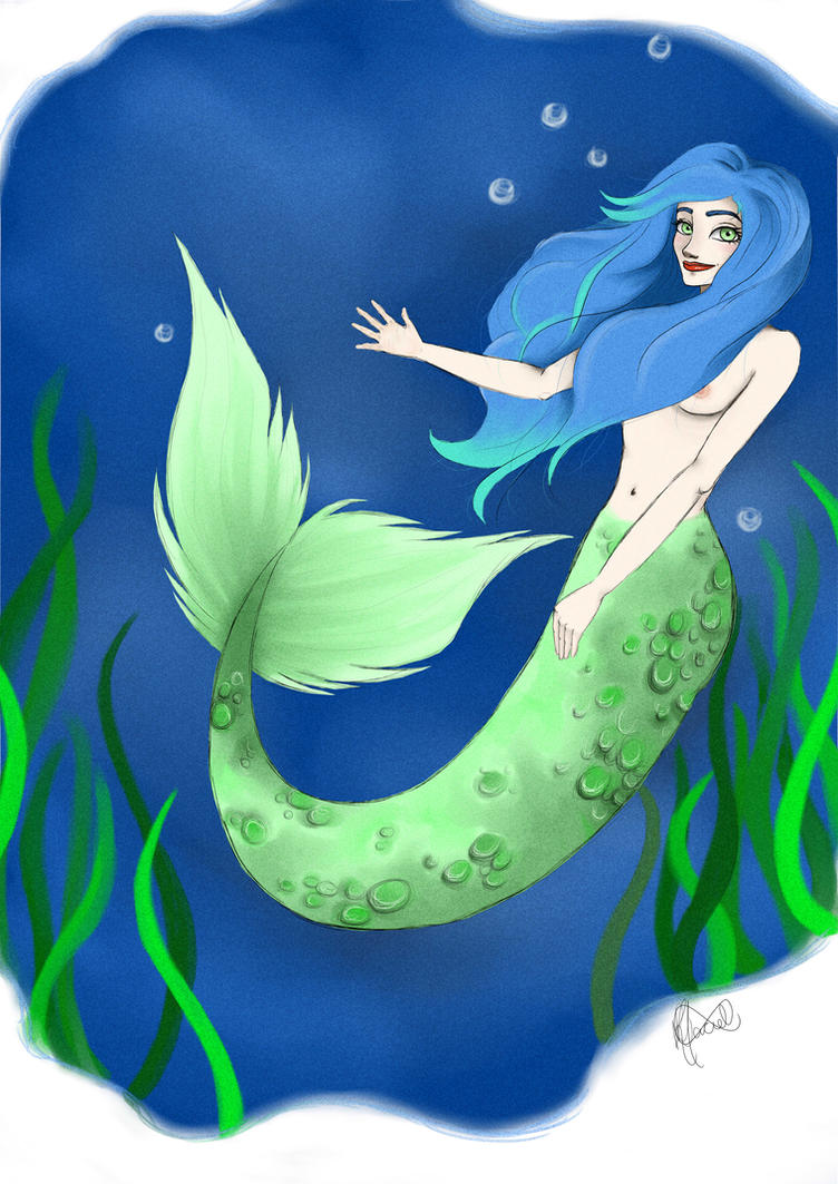 Mermaid by LuluHimeChannel