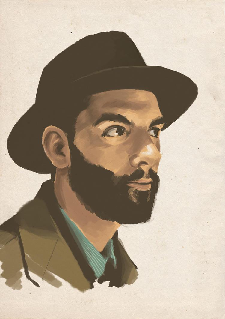 Portrait IV by MilouvanMontfort