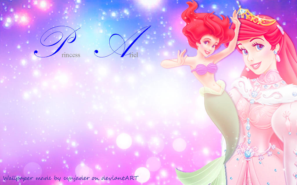 Princess Ariel Wallpaper by cynjader on DeviantArt