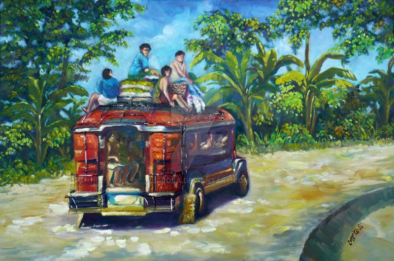 Jeepney by j0rosa on D...