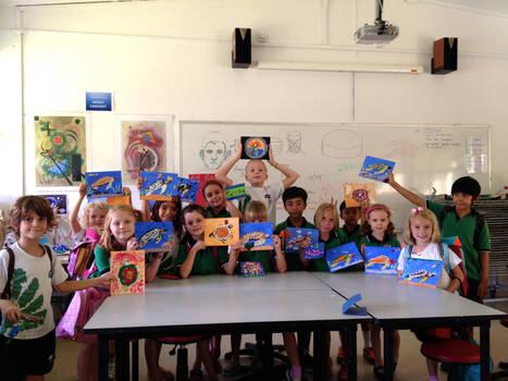 Jas art class
