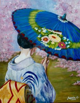 Japanese Umbrella2