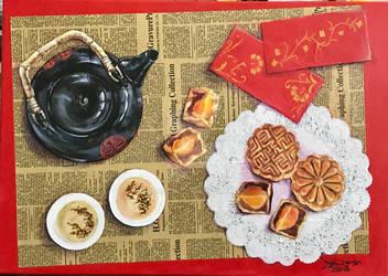 Mid-Autumn Festival, Mooncake day!