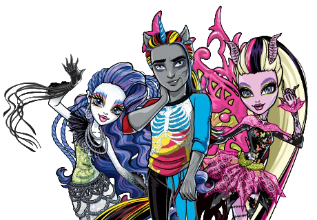 Monster High PNG Freaky Fusion By Amberqueen88