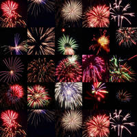 Fireworks. A lot of Fireworks by scorpionchee
