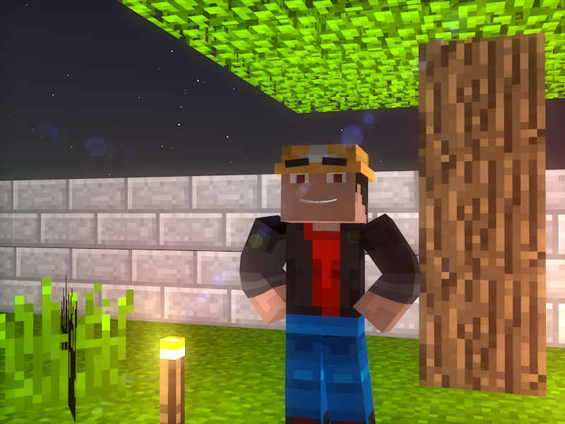 Minecraft 3D: Cinema 4D trial by playingames6 on DeviantArt