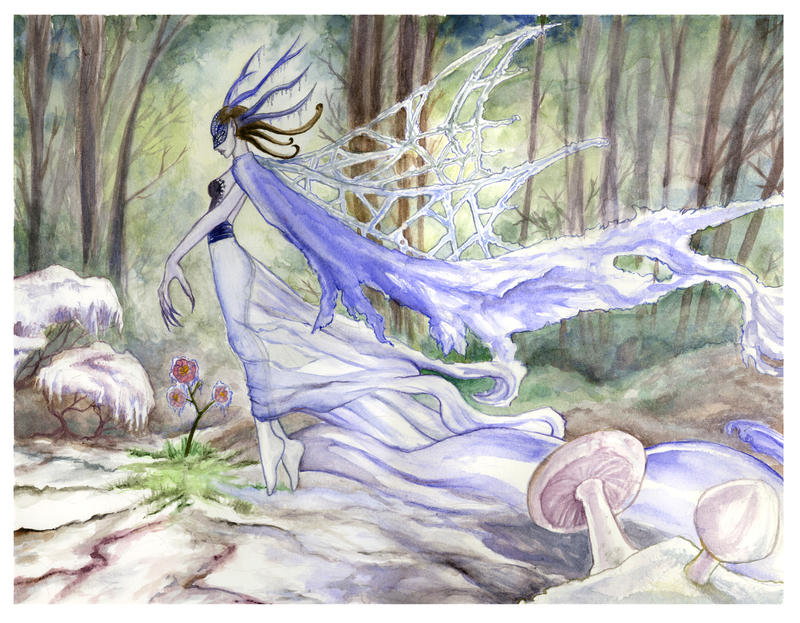 The Ice Faerie's Breath by AngelaSasser