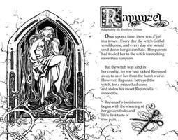 Rapunzel Book Spread