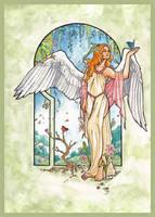 Angel of Spring by AngelaSasser