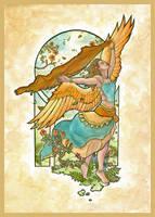 Angel of Summer by AngelaSasser