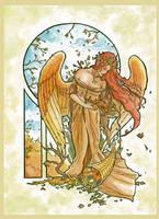 Angel of Autumn by AngelaSasser